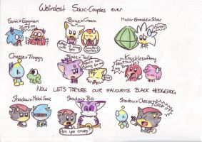 weirdest Sonic couples ever by LeniProduction