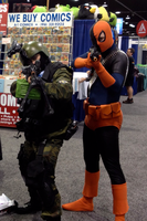 Slade and His $1million Spetsnaz Guard by Ghost141