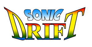 Sonic Drift Logo Remade HD by NuryRush