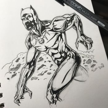 Black Panther week 4/6 by shaotemp
