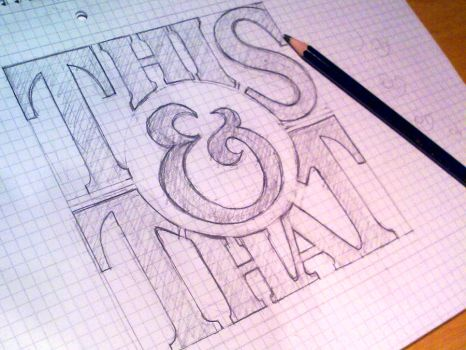 Handlettering: This and That by Play4ce