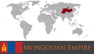 Greater Mongolian Empire by PrussianInk