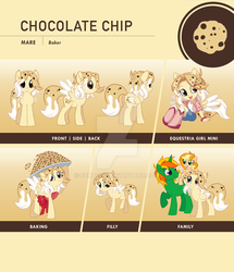 Chocolate Chip Reference Sheet by Centchi