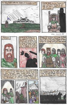 Le Morte D'Arthur: Page 3 by DWestmoore