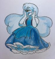 Steven Universe - Sapphire by MsCreepyPlagueDoctor
