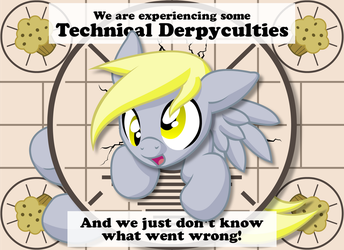 Technical Derpyculties Vector by Inkwell-Pony