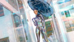 Cyborgs in Glass Houses with Umbrellas by armieri