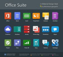 Office Suite in Material Design by glange65