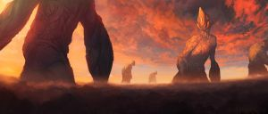 Their Solemn Procession by noahbradley