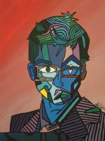 Tenth Doctor- Cubism by Samichixox