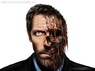 House infected face by AtomiccircuS