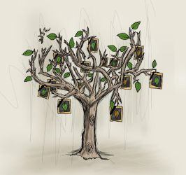 The Syrian tree by sameer-kH