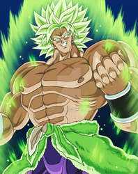 Look it's more Broly by Furipa93