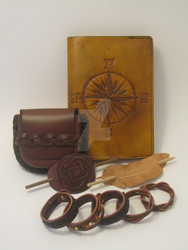 Assorted Leather Goods by LeathercraftersInn