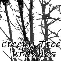 Creepy Tree Brushes by NotPeople-Stock
