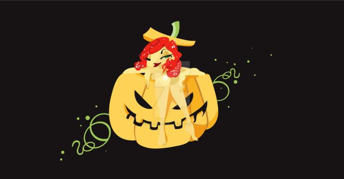 Halloween Pumpkin by NinaMierowska