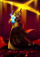 GF: WEIRDMAGEDDON (Bill Cipher) by Hikarisoul2