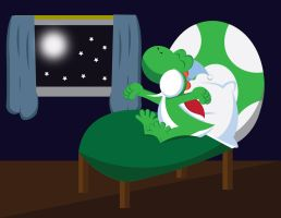 Request -Yoshi's Bedtime by gemstonelover49