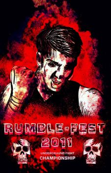 RUMBLEFEST 2011 by CoffeeSinclair