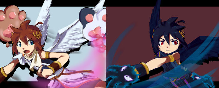 I Think Kid Icarus Is A Pretty Cool Guy Iconprnnography Prnnography 127 34 Light VS Dark Mode By MamaRocket