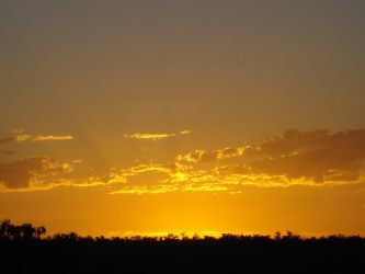 Sunset2 23rd January 2010 by AussieSheilaSunsets