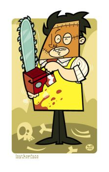 Leatherface by Montygog