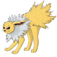 Jolteon by Do-omed-Moon