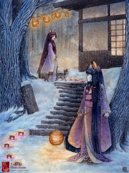 The Bakeneko by TeaKitsune