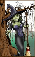 Wicked Witch by Pencilbags