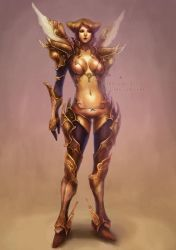 bronze and gold by len-yan