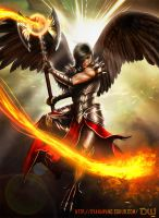 Firestorm Archangel by ChekydotStudio