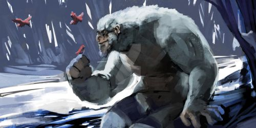 Yeti Concept by mkmatsumoto