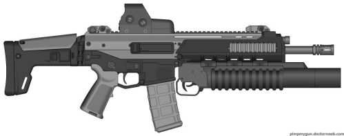 Bushmaster ACR Modern Warfare 2 (Grenadier) by Scarlighter