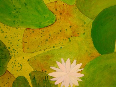 'Water lillies 3' by LadyLotus