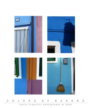 Colors of Burano by Nutsh3ll