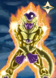 Golden Frieza by Shinobi-Gambu
