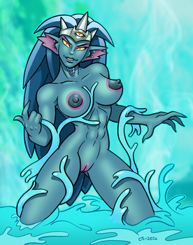 Bioforest Queen by curtsibling
