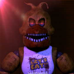 Stylized Nightmare Chica (4K) by GamesProduction