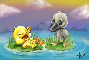 Ugly Duckling by timwell