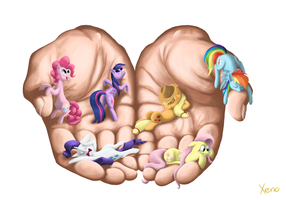 Handful of love by The1Xeno1