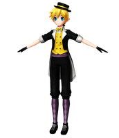 Project Diva X HD: Trickster Len [Download] by FlyingSpirits-P