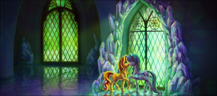 In the sunlit window. by CosmicUnicorn