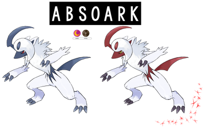 Pokemon Fusion Photoshop~Absoark~ by Xbox-DS-Gameboy