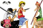 One piece Crew Coloured by l3xxybaby