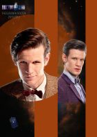 Doctor Who - The Eleventh Doctor by StrangeHumanCake
