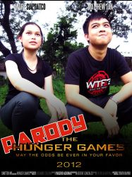 Hunger Games Parody Poster 2 by Quietuscentrus