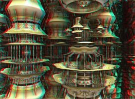 Carousels2 Stereo by DDDPhoto