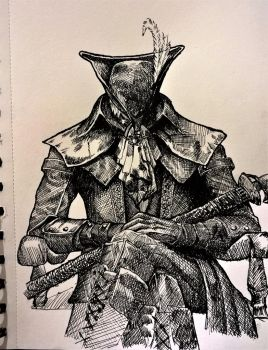 Lady Maria of the Astral Clocktower by Goldahe