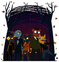Night In The Woods by ArtificeBlade