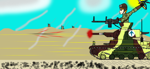 Attack on the Airfield by FRIEND711